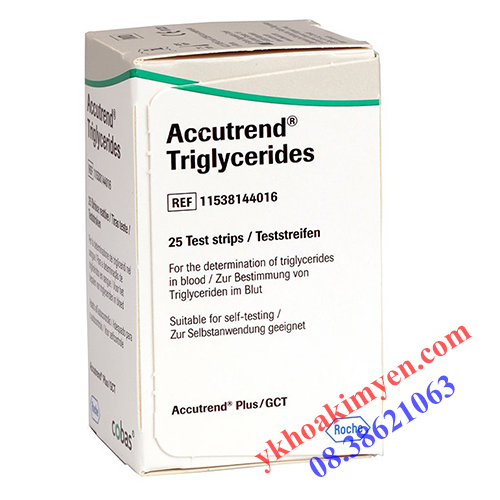 Que thử Accutrend Triglycerides
