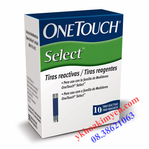 Que thử đường huyết One Touch Select Simple